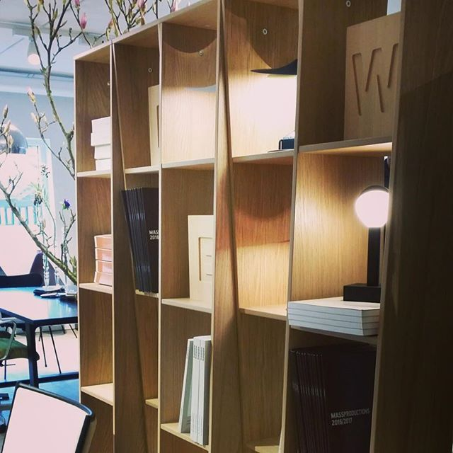 Massproductions exhibiting together with Wästberg at the @inputinterior fair in Malmö earlier this spring #massproductions #wastberglighting #endless #input