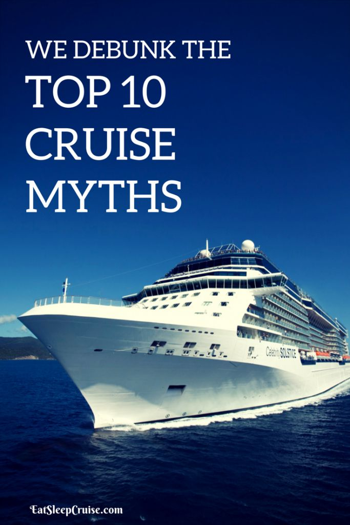 Top 10 Cruise Myths Debunked! #cruise #cruising
