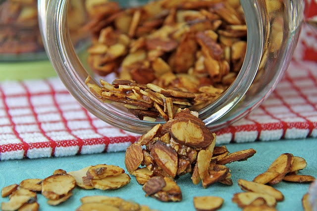 Candied & Spiced Almonds | Things to Bake | Pinterest