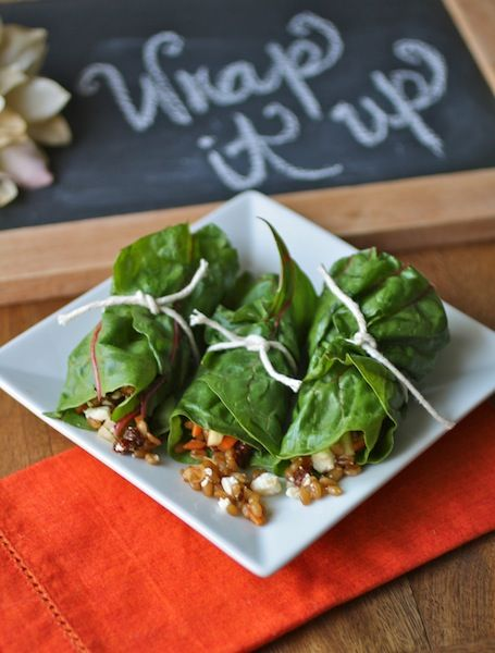 Sandwich Wrap With Wheat Berry Spread Recipes — Dishmaps