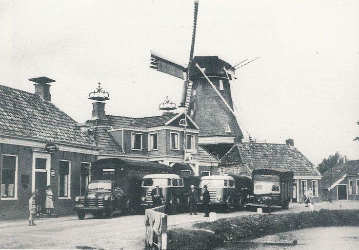 Wagenpark Flikkema begin jaren 50