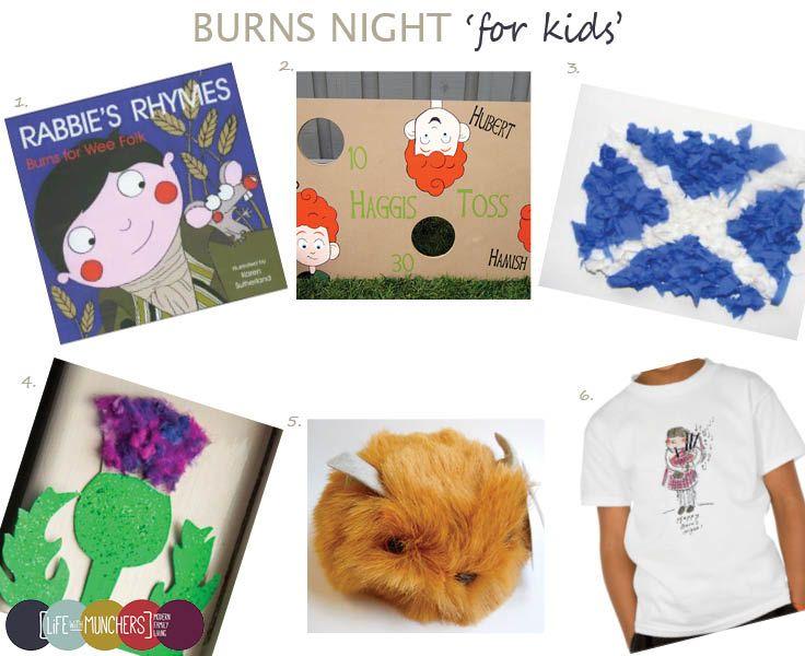 Burns Night (Scotland) - dltk-kids.com