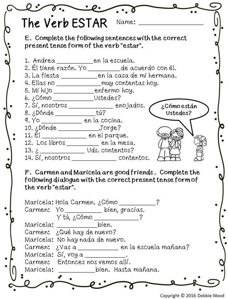 325 Best Spanish Class Images On Pinterest Spanish Classroom