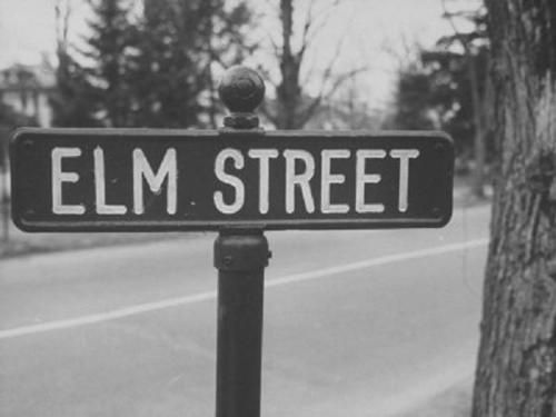 Every town has an Elm Street...