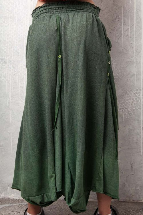 dlouhá asymetrická sukně 1045 - vel. S/M