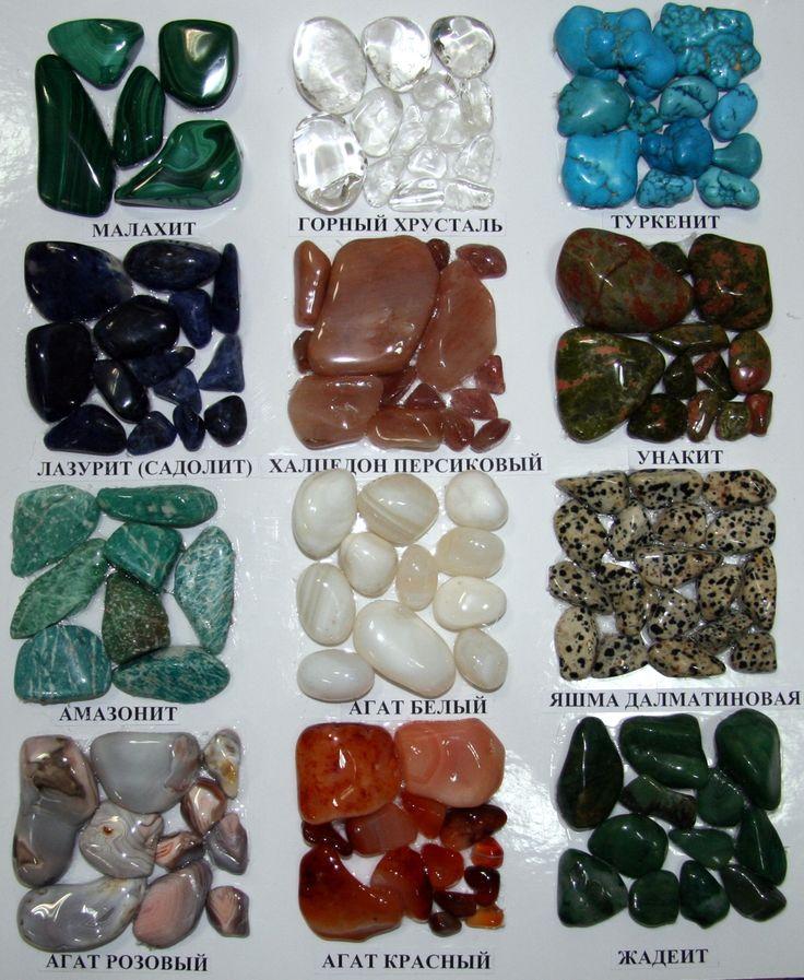 Картинки камней и название