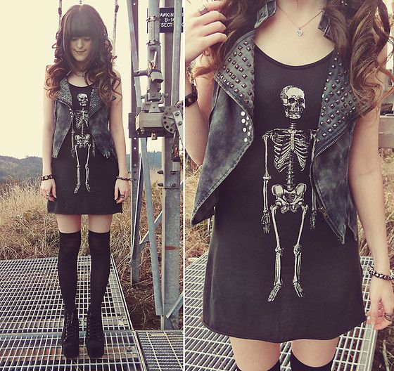 Show me your skin & bones // giveaway on my blog (by Ashlei Louise) http://lookbook.nu/look/4199941-Show-me-your-skin-bones-giveaway-on-my-blog