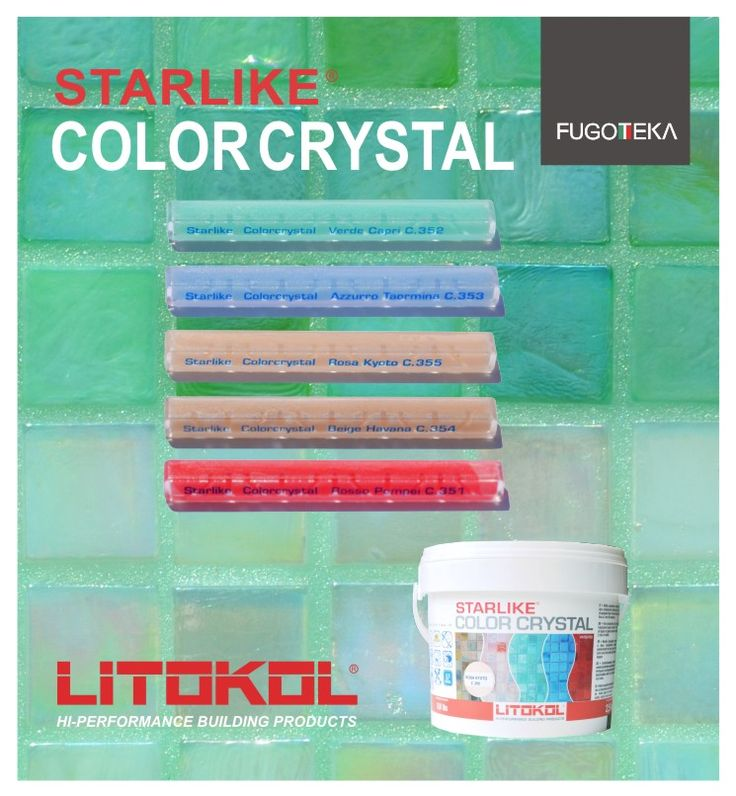Litokol Starlike Crystal Color