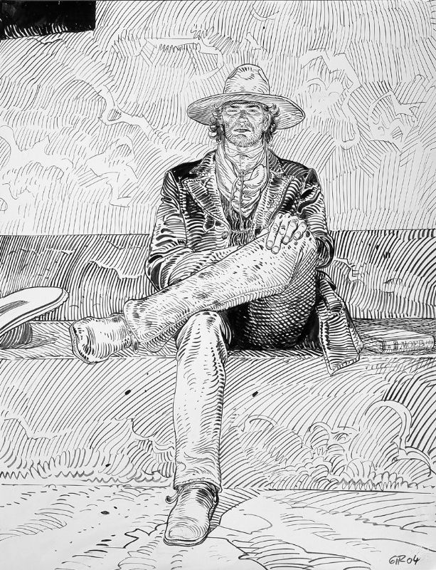 Jean Giraud/Mœbius: Lieutenant Blueberry - regardez un exemple de making-of http://studiocigale.fr/films/?catid=1&slg=making-of-publicite-institut-curie