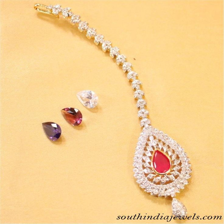 Maang Tikka Designs ~ South India Jewels
