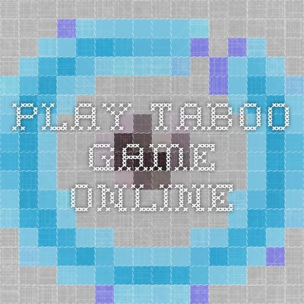 game taboo online
