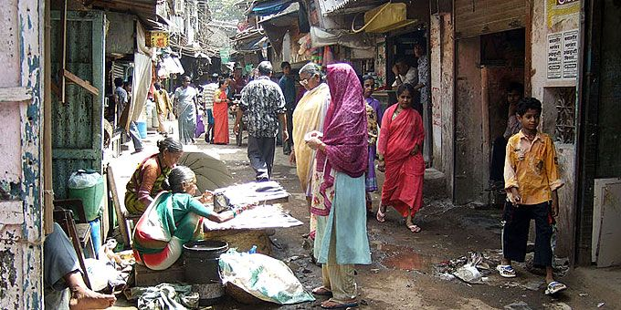 Παλάτια και παράγκες: Ένας πλανήτης… άνισος Μουμπάι, Ινδία