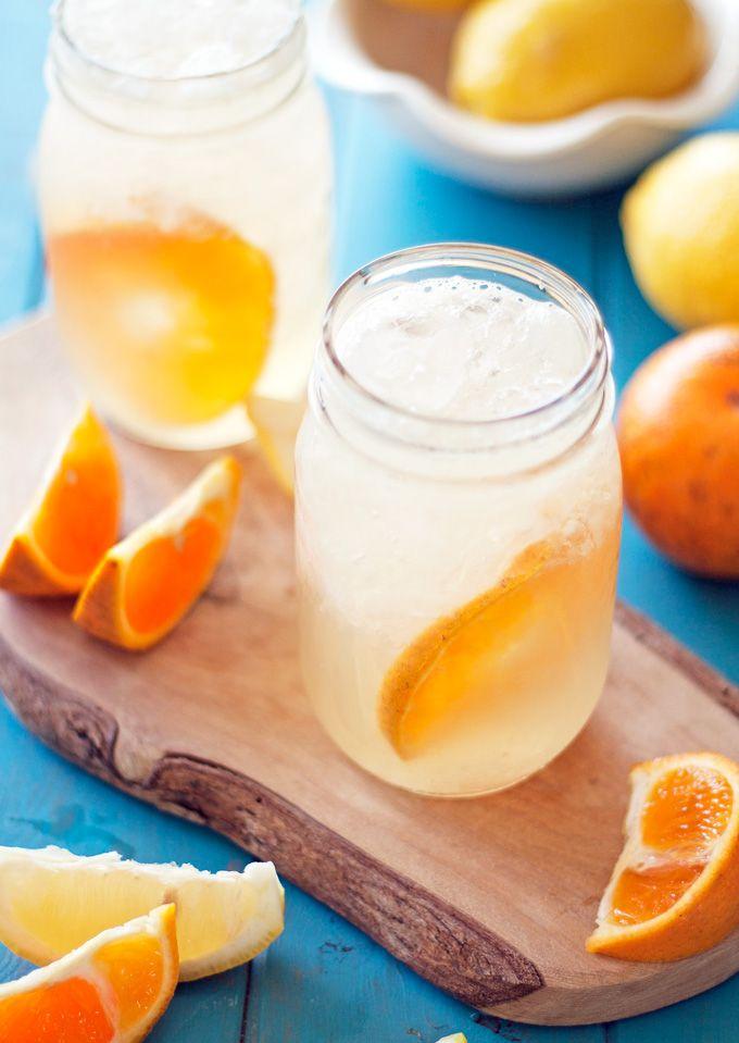 tangerine lemon shake up