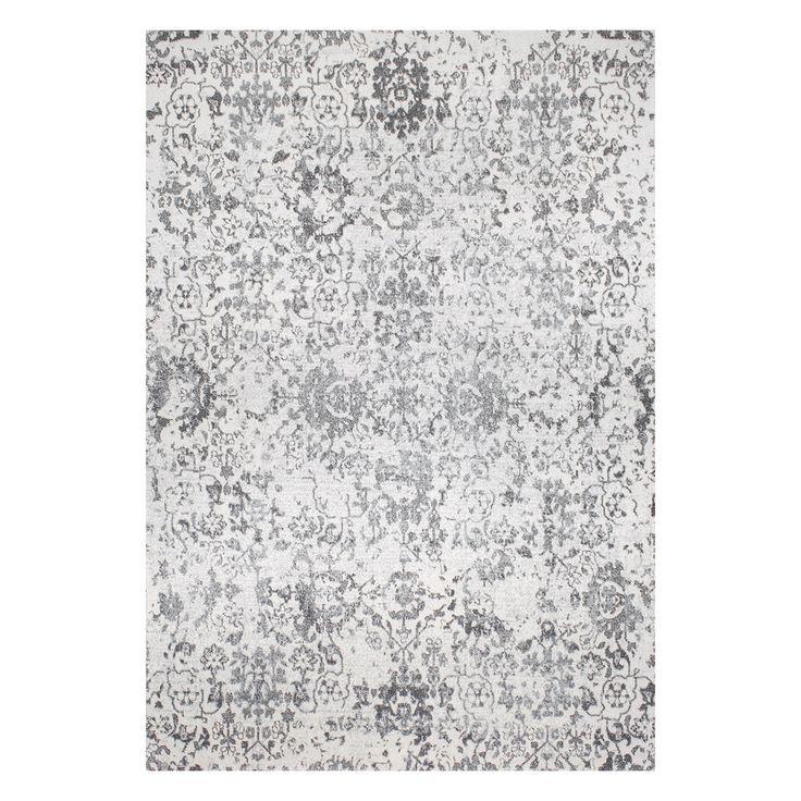 nuLOOM Nubia Floral Damask Rug, Grey