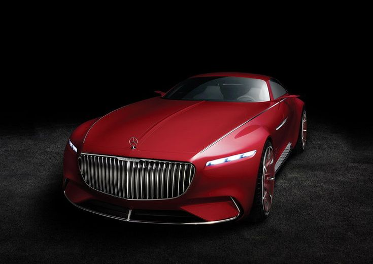 2016 Mercedes-Maybach Vision 6....