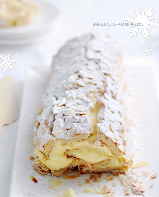 White Christmas | Yvette van Boven, MERENGUE-AMANDELROL