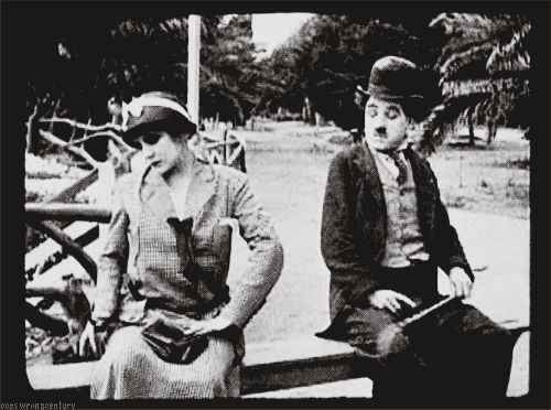 fuckyeahchaplin:    Charlie and Edna in By The Sea c.1915