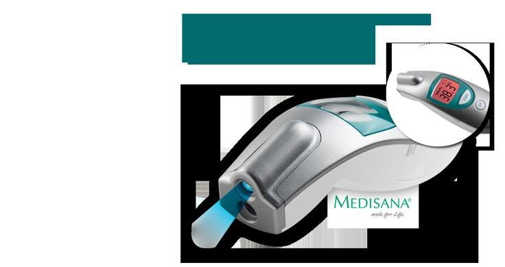 Termómetro por infrarrojo Medisana