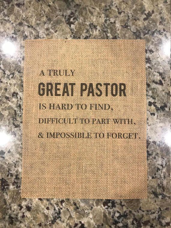 8.5x11 Pastor Appreciation Print Pastor Gift Pastor