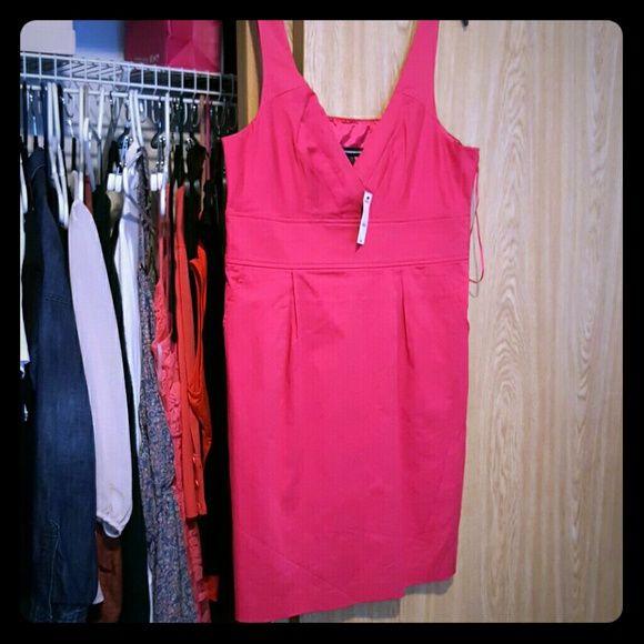 Dress Hot pink work dress Express Dresses