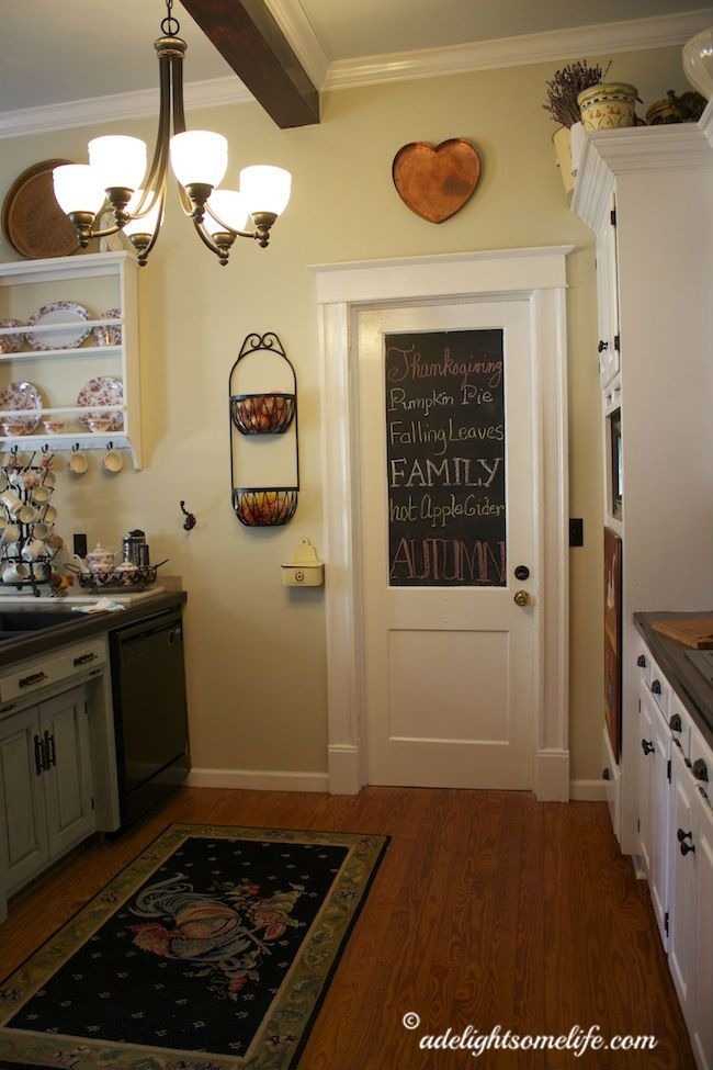 DIY:: So Beautiful Budget Farmhouse Kitchen Makeover (She list every detail, so you can easily use ALL or any of her updates on your own Kitchen)