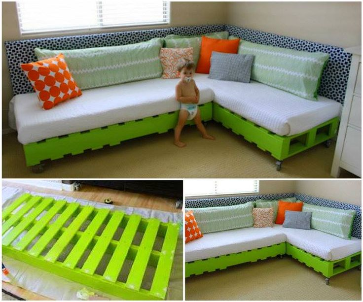 17 Best Ideas About Kids Pallet Bed On Pinterest
