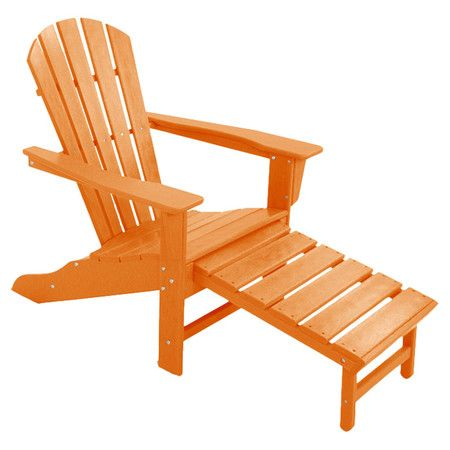 folding adirondack chair with ottoman woodworking projects plans