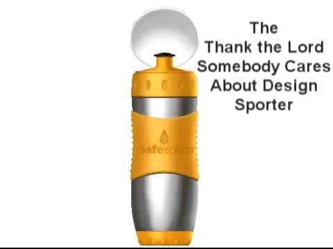 Safe Sporter  Kids Drink bottle by kid Basix