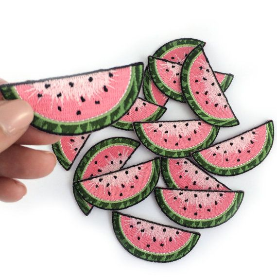 Patch de pastèque, melon d