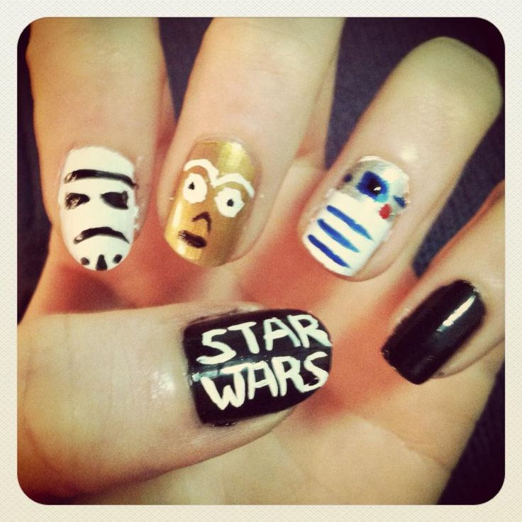 Star Wars Nail Art Ideas: Best Ideas About Geeky Nail, Nerdy Nails And Dorkiest