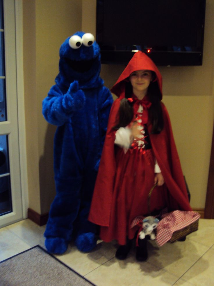 Homemade Costumes 2013 Cookie Monster Little Red Riding Hood