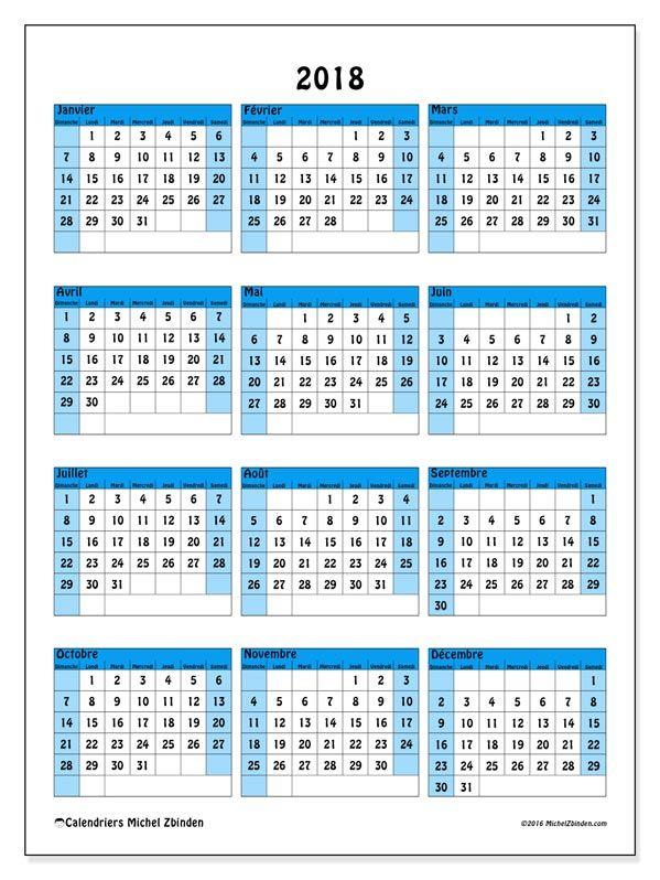 calendrier 2018 gratuit a imprimer belgique