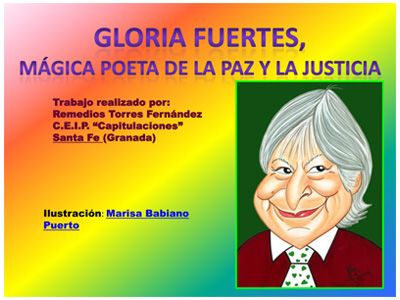 DÍA DE LA PAZ, poema de Gloria Fuertes