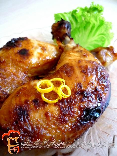 Citra's Home Diary: Sweet and Sour Roasted Chicken