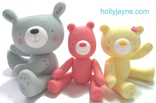 clayfriends by hollyjayne, via Flickr