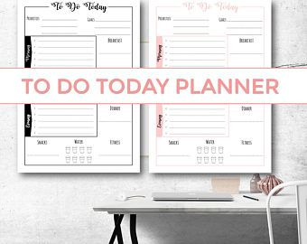 TO DO TODAY PRINTABLE PLANNER