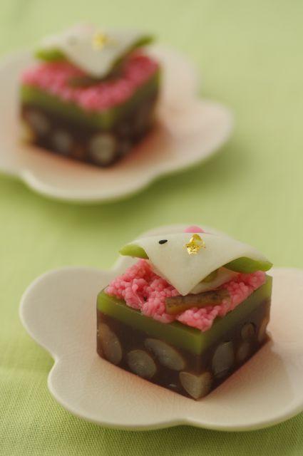 和菓子で春を呼ぶ・・・手作り和菓子 「春告鳥」 : ふつうのコト