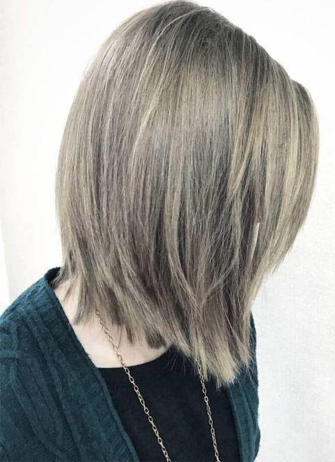 Straight Full Length Bob Hairstyles 2018