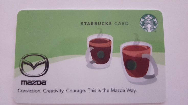 Starbucks Corporate Gift Card - Mazda