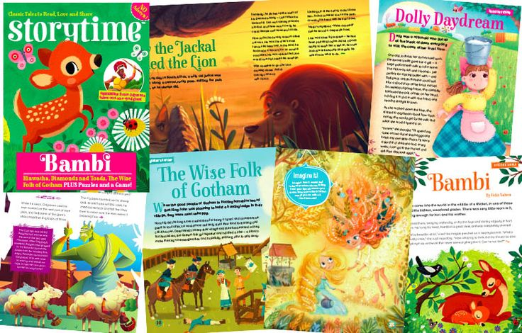 A sneaky peek inside Storytime Issue 18 - adventure, magic, myths and more! ~ STORYTIMEMAGAZINE.COM