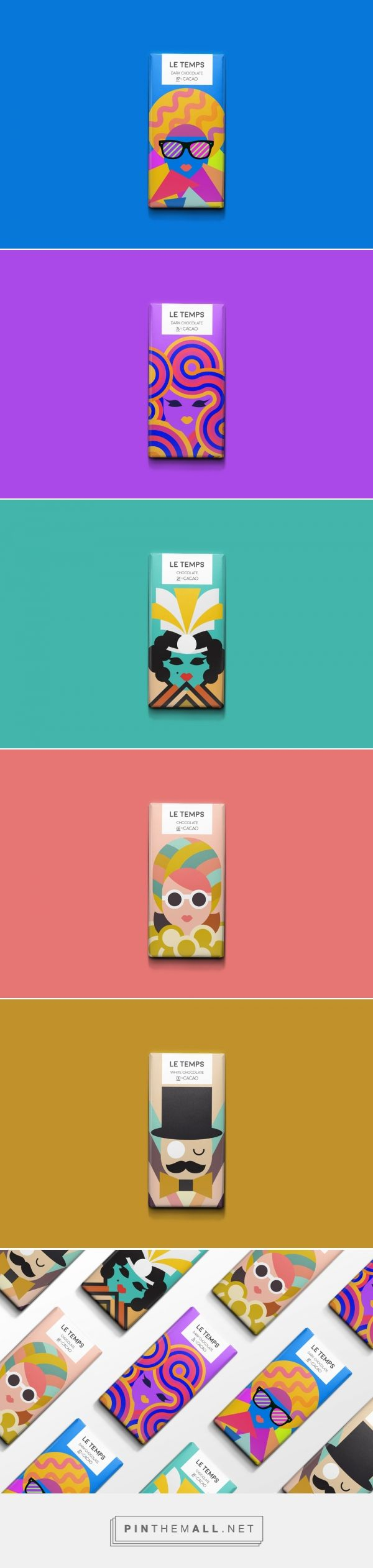 Le Temps Chocolate / concept / designed by Meeta Panesar