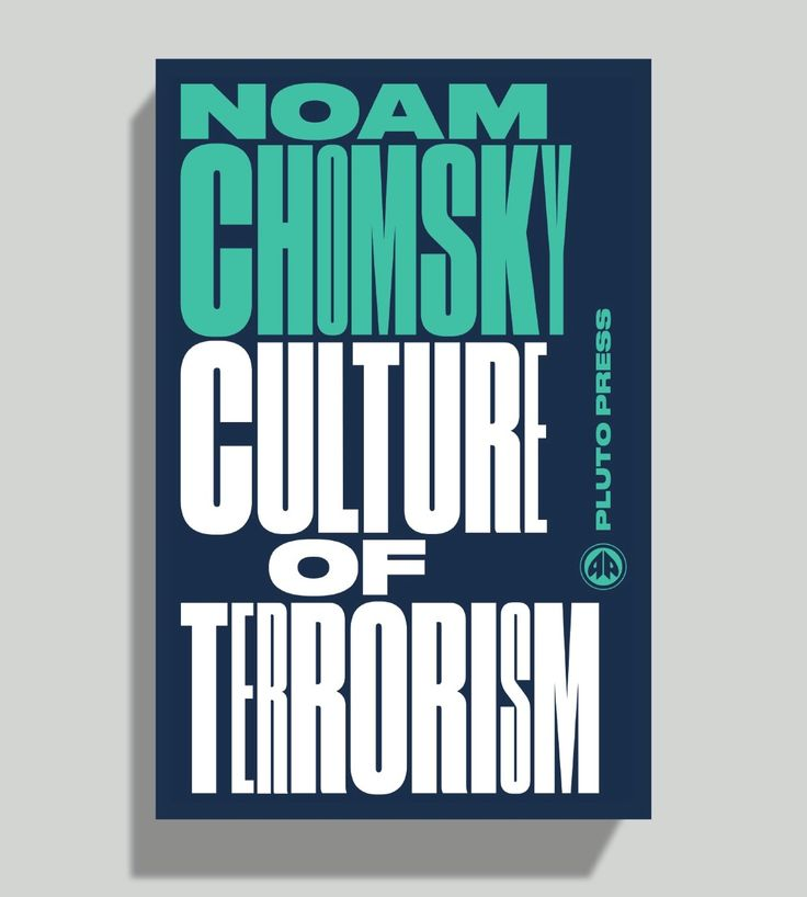 Noam ChomskySeries published by Pluto Press, designed by David Pearson featuring Commercial Type's Druk.