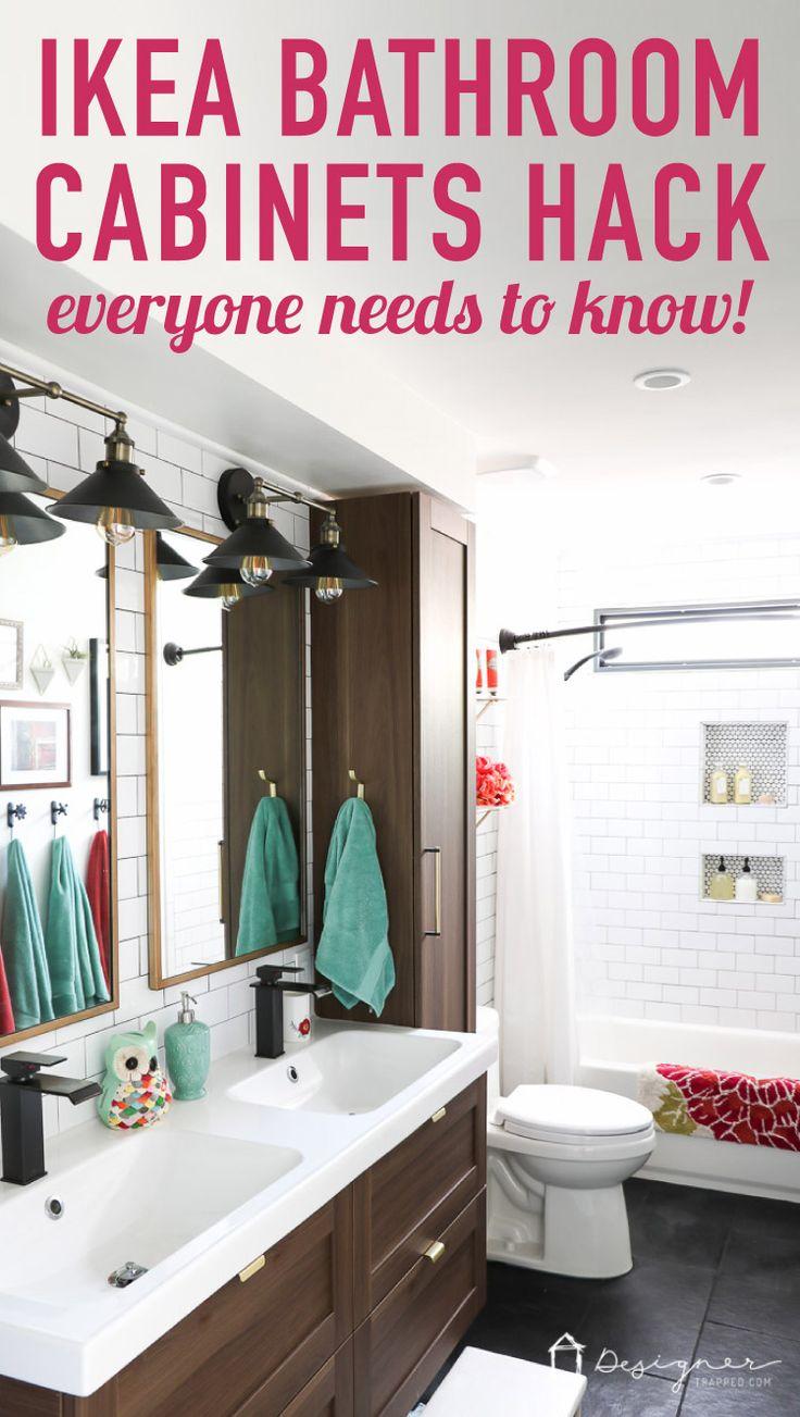 Best 25 Bathroom Cabinets Ikea Ideas On Pinterest  Ikea Toilet Cool Bathroom Design Ikea Decorating Design