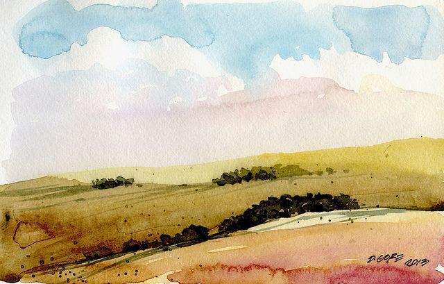 landscape sketch | Flickr - Photo Sharing!