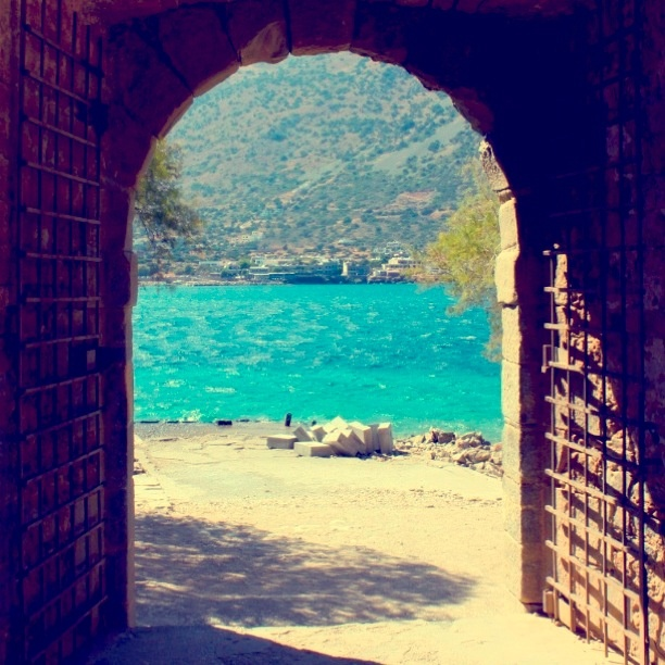 Spinalonga, Crete, Greece.  Setting of the Victoria Hislop's 'The Island'