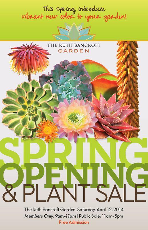 Ruth Bancroft Botanical Garden Poster