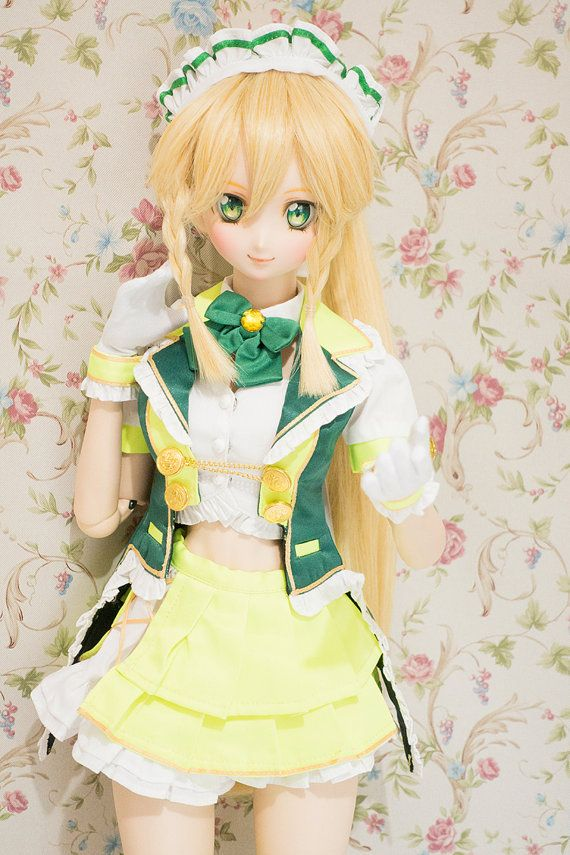 SAO CR Idol  Leafa Ver. OutfitWig/DD Head by CfphkBJD on Etsy