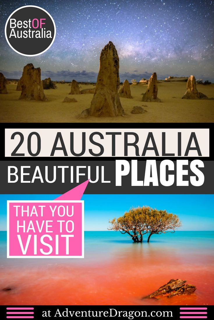 20 Most Beautiful Places in Australia Photos