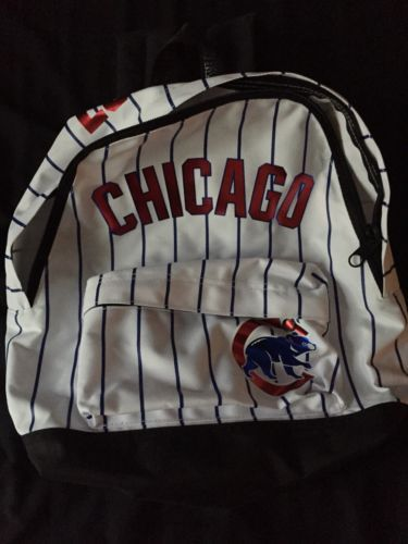d7f6afaa2df Gently Used Victoria s Secret PINK Nation Chicago Cubs Mini Backpack ...