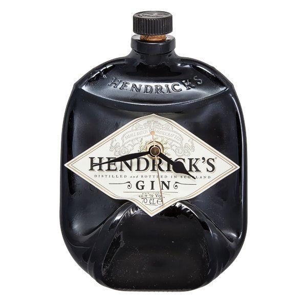 Hendrick's Gin bottle clock by Aramica on Etsy